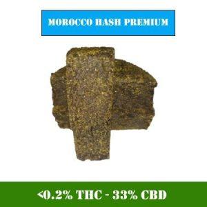 Résine CBD marocain